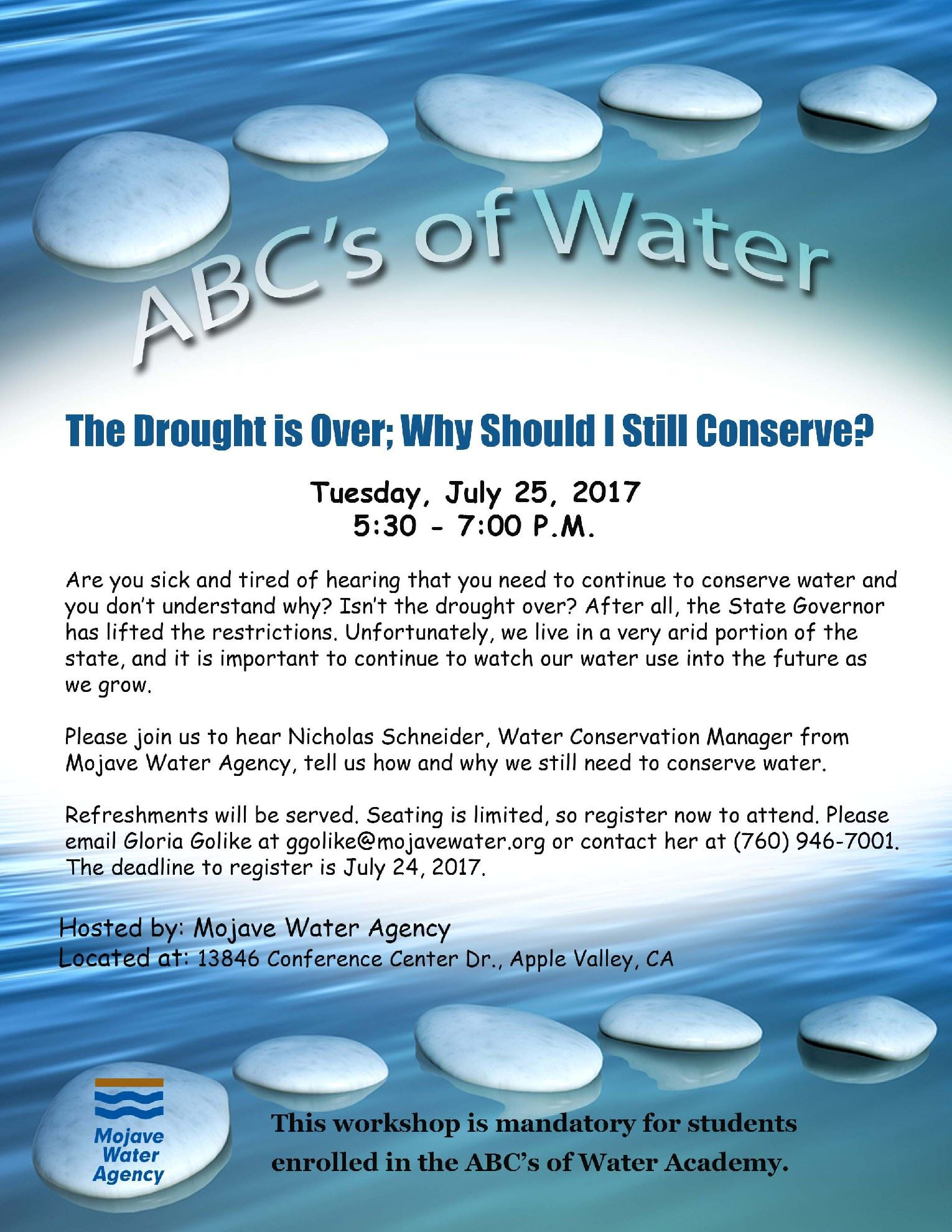 Mojave Water ABCs of Water