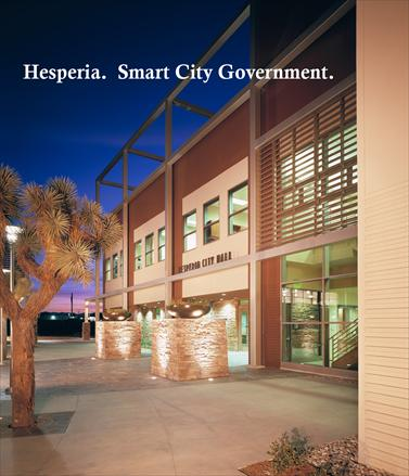 Hesperia City Hall Night Shot
