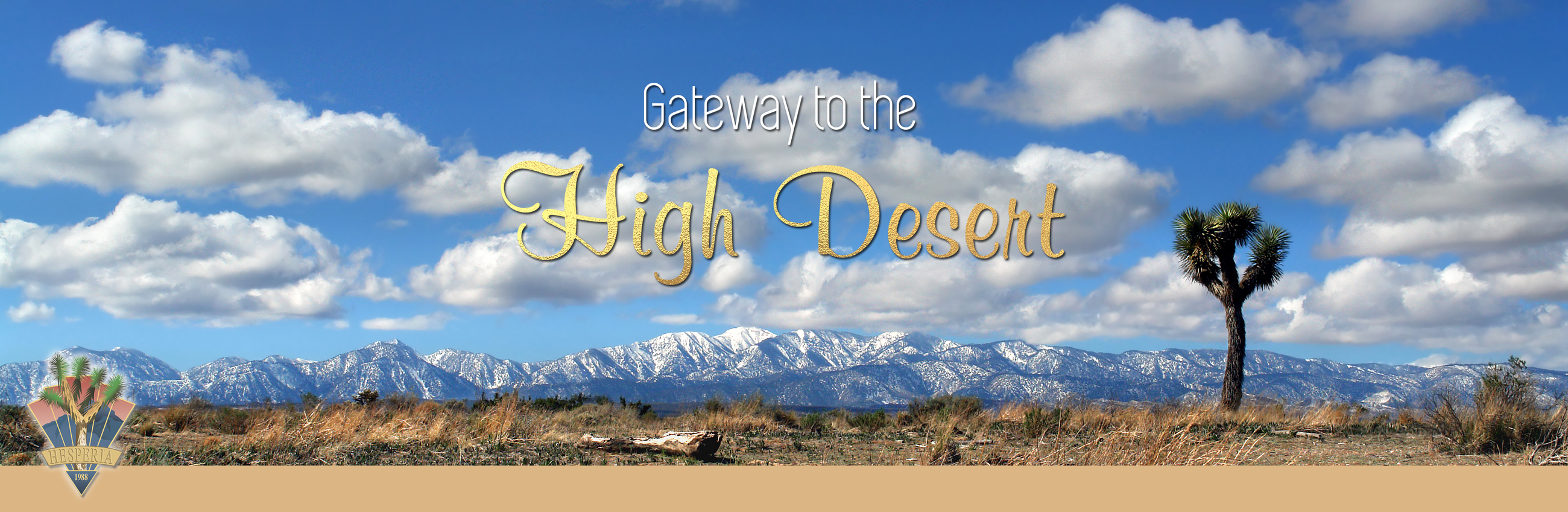 Gateway to the High Desert